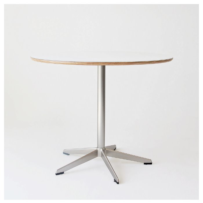 609X TABLE - SILVER -
