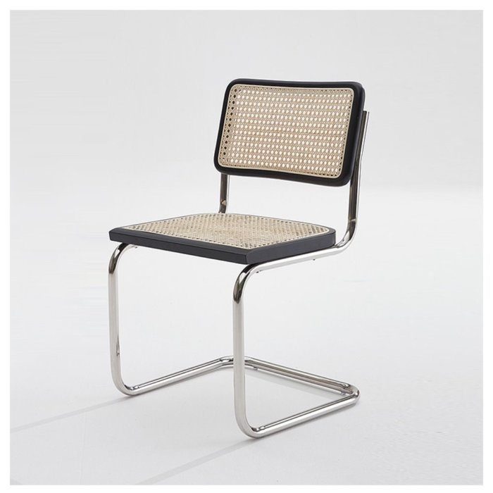 CH781 CHAIR - Black Rattan -